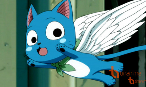 Fairy Tail có thêm ngoại truyện về Happy!