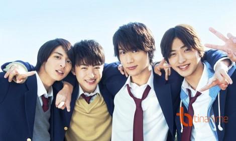 Bộ tứ mỹ nam xuất hiện trong Live-Aciton Nijiiro Days!