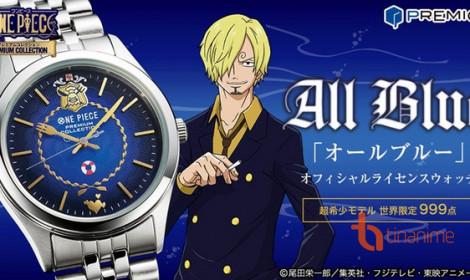 """Ra mắt chiếc đồng hồ """"All Blue"""" trị giá hàng chục nghìn Yên mừng ngày lễ của biển!"""