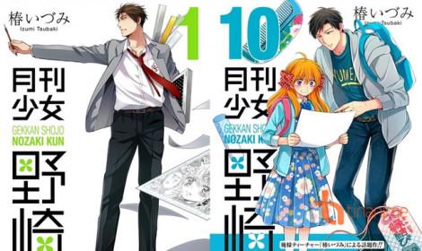 6 nam nhân xuất hiện ngoài đời thực mừng manga Gekkan Shojo Nozaki-kun tròn 100 chap!!