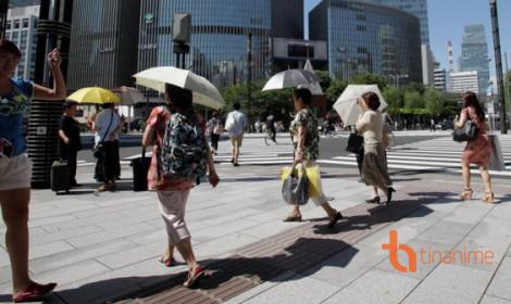 Nhật Bản và cách chống chọi cái nắng gay gắt!