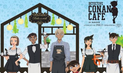Quán cà phê Detective Conan đã xuất hiện tại Băng Cốc, Thái Lan!