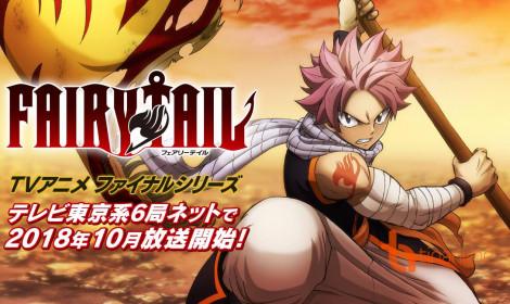 Fairy Tail Season cuối ra mắt Visual đầu tiên nóng hổi!!