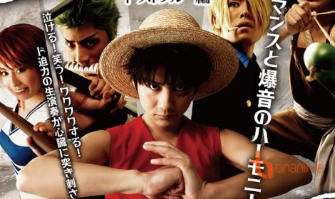 Tiết lộ dàn nhân vật One Piece ngoài đời thực trong sự kiện hòa nhạc One Piece!