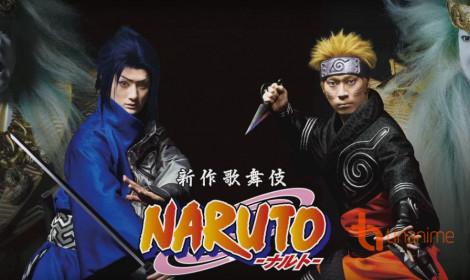 Công bố diễn viên chính thức cho vở kịch Naruto Kabuki!