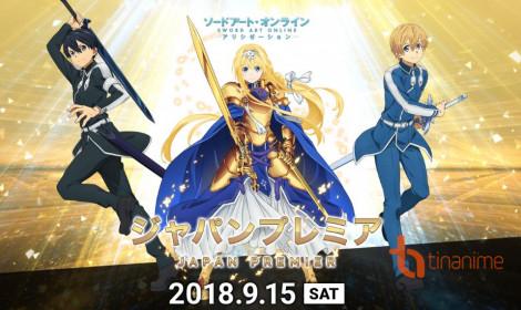 Sword Art Online season 3 sẽ được phát hành sớm tại 7 quốc gia!