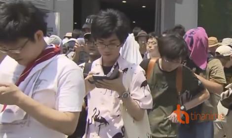 180 du khách bị sốc nhiệt trong lúc tham quan lễ hội manga!
