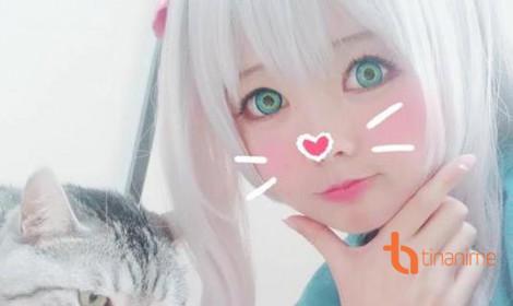 Bộ ảnh cosplay Izumi Sagiri trong Eromanga sensei!
