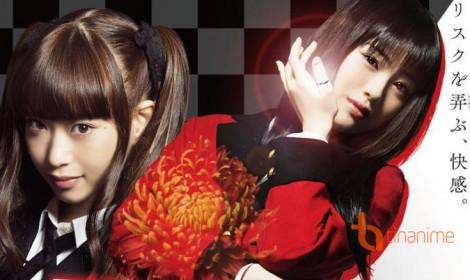 Live action Kakegurui tiếp tục với season 2!
