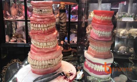 Khóc thét với những món bánh kem kinh dị