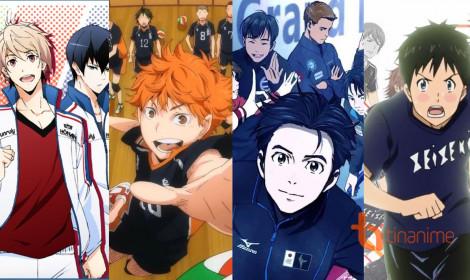 Top 10 anime thể thao không thể bỏ qua trong mùa ASIAD (P.1)