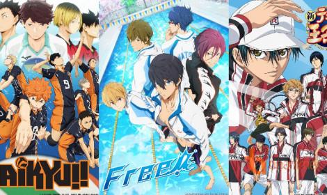 Top 10 anime thể thao không thể bỏ qua (Phần 2)