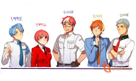 Khi các trình duyệt web cũng được nhân cách hóa theo kiểu anime!