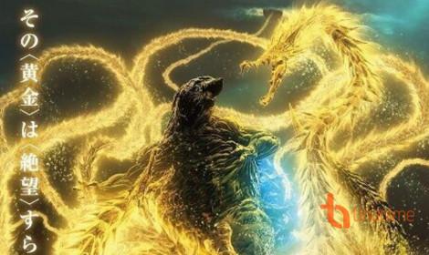 Godzilla đại chiến Ghidorah trong visual mới của movie Godzilla: The Planet Eater