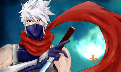 [Artwork] Mừng sinh nhật ninja sao chép Hatake Kakashi