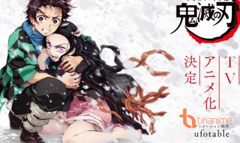 Kimetsu no Yaiba sẽ được ra mắt vào mùa xuân 2019!