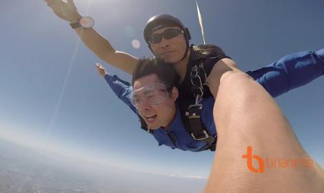 Trải nghiệm nhảy dù tại Kawajima, Saitama