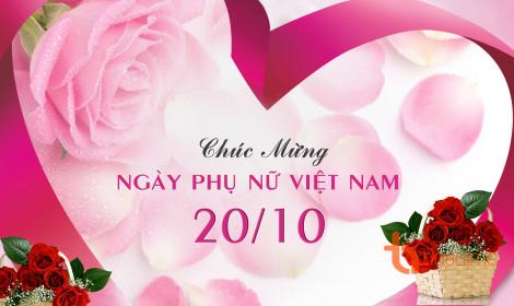 Chúc mừng ngày Phụ nữ Việt nam!