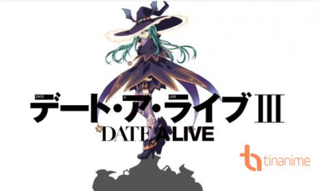 Date A Live Season 3 công bố visual và thời điểm ra mắt
