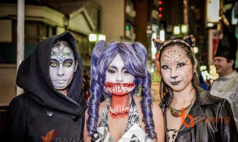 Halloween Nhật Bản gây ấn tượng xấu đến du khách nước ngoài!