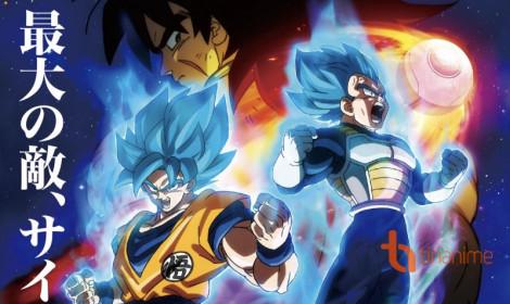 Cực hot! Siêu phẩm Dragon Ball Super: Broly hé lộ trailer cuối cùng
