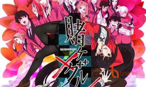 Kakegurui season 2 ra mắt visual mới - Tay bạc số một trong ngành!