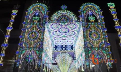 Thánh đường ánh sáng tại thành phố Kobe!