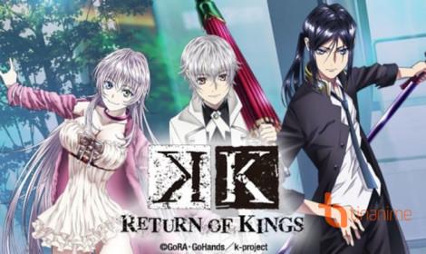Vở kịch K: Return of Kings - Những sức mạnh siêu nhiên trên sân khấu!