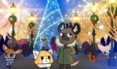 Aggretsuko - Bộ anime chiếu mừng Giáng sinh năm 2019!