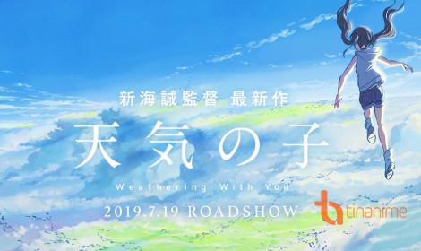 Tác giả Your Name cho ra mắt movie mới - Tenki no Ko!