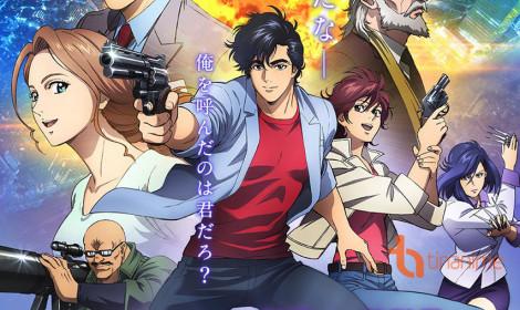 """""""Tung hoành"""" Tokyo với movie City Hunter"""