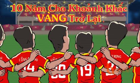 Sắc đỏ, sao vàng đang tràn ngập khắp ngõ phố Việt Nam!