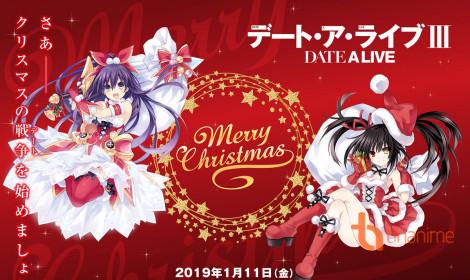 Date A Live Ⅲ sẽ phát hành 2 DVD/Blu-ray kèm figure Kurumi Tokisaka