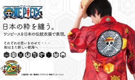 Chiếc áo kỷ niệm 20 năm của One Piece cực đẹp!