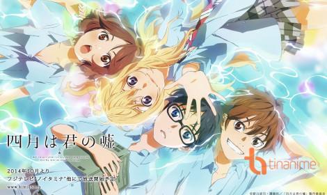Top 10 anime lãng mạn gây ấn tượng sâu sắc với fan