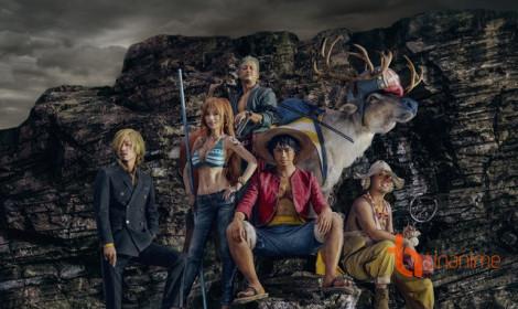 """One Piece """"live action hóa""""... chỉ để quảng cáo!?"""