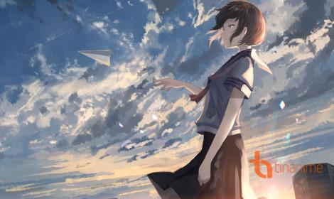 [Artwork] Tóc ngắn và bầu trời