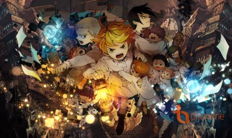 Top 10 anime mùa Đông 2019 tuần 1 - Yakusoku no Neverland giành lấy ngôi vương!