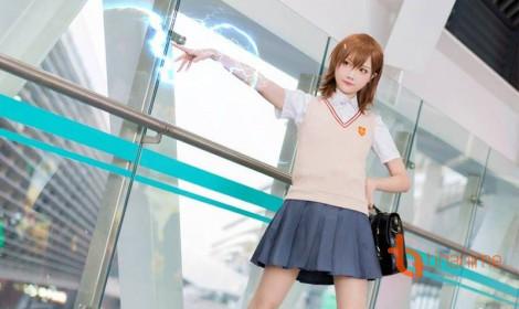 Bộ ảnh cosplay Misaka Mikoto của coser Tiểu Nhu đầy thính!