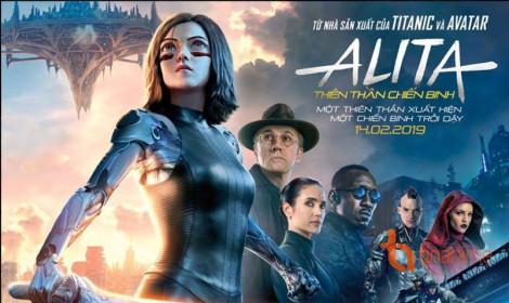 Live action Alita Thiên thần chiến binh đạt doanh thu khủng trong ngày khởi chiếu!