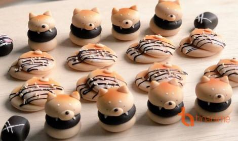 Những chiếc bánh thú làm từ đất sét Nhật - Dễ thương khó cưỡng