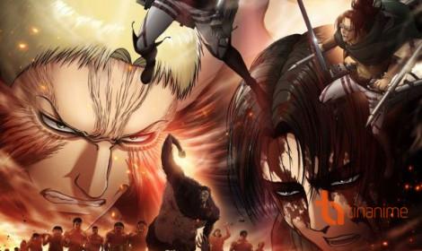 Attack on Titan Season 3 hé lộ hình ảnh mới
