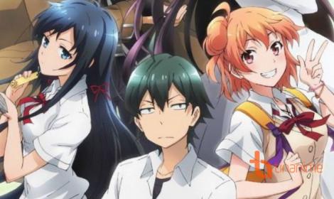 """Yahari Ore no Seishun Love SANFU season 3 - """"Thánh triết lý"""" trở lại, lợi hại hơn xưa"""