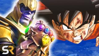 Top 10 Nhân Vật trong Anime Mạnh Hơn cả Thanos!?