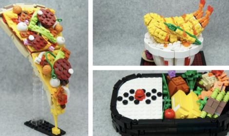 """""""Há hốc mồm"""" với các món ăn làm từ...LEGO"""