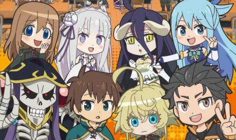 Isekai Quartet season 2 - Tiếp tục hội ngộ tại lớp học