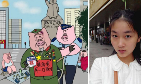 """9 người bị bắt ở Trung Quốc vì được cho là """"Tinh thần Nhật Bản""""!"""