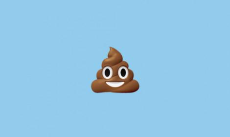"""Tạo emoji """"đống phân"""" bằng tay để chúc nhau may mắn!"""