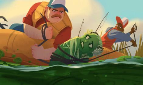 [Artwork] Anh ơi, em chỉ là một cô cá thành tinh!