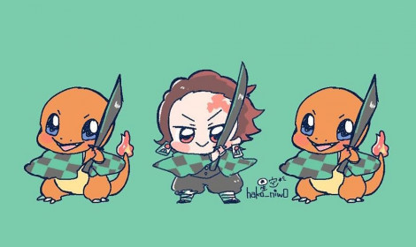 Các nhân vật trong Kimetsu giống ai nhất trong Pokemon?